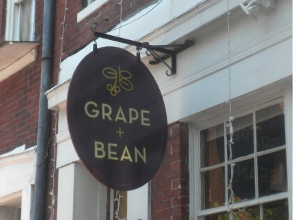 Grape and Bean in Old Town