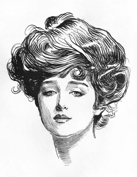 463px-Gibson_Girl_by_Charles_Dana_Gibson
